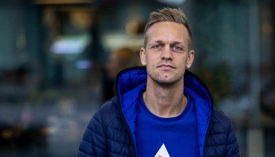 REAGERER: Mads Hansen har klagd inn Se og Hør til PFU. Foto: Tore Meek / NTB