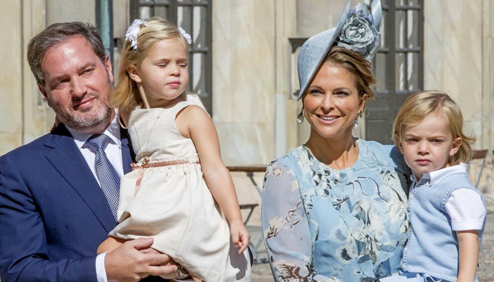 KOMMER IKKE: Prinsesse Madeleine deler lørdag den triste nyheten om at hun og resten av familien ikke reiser til Sverige for å feire jul med resten av kongefamilien Foto: Robin Utrecht / REX / NTB