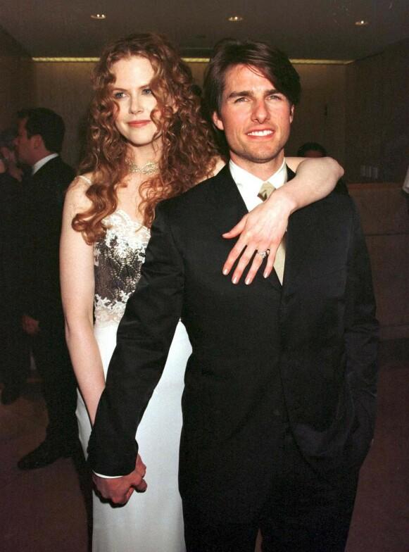 1998: Her er Nicole Kidman og Tom Cruise avbildet i 1998. Foto: REX / NTB