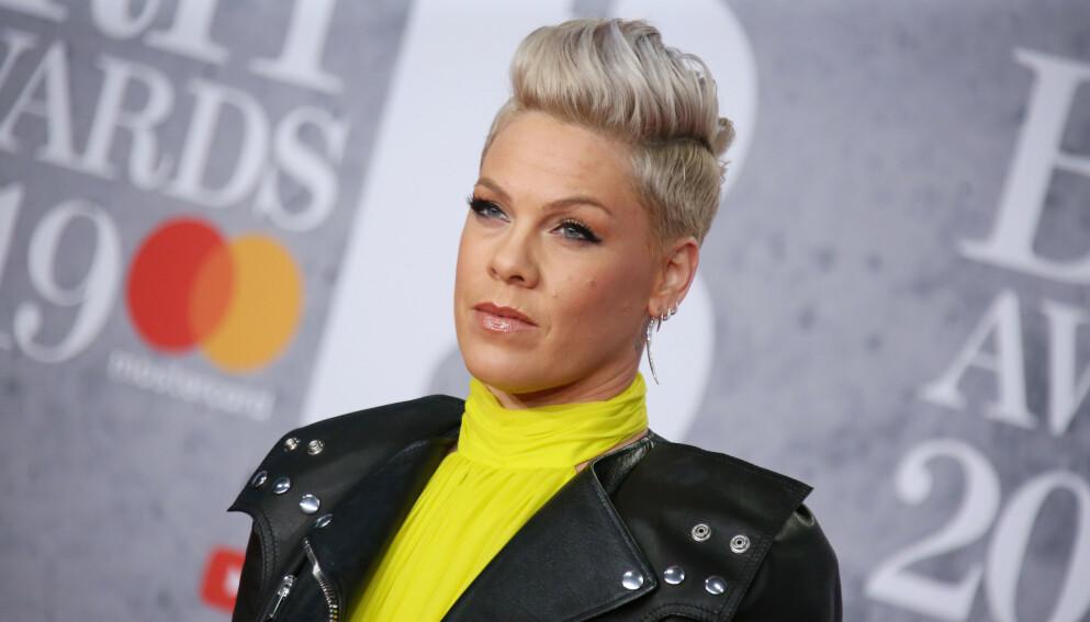KJIPT ÅR: 2020 har ikke akkurat vært popstjerna Pinks år. Foto: Matt Baron / REX / NTB