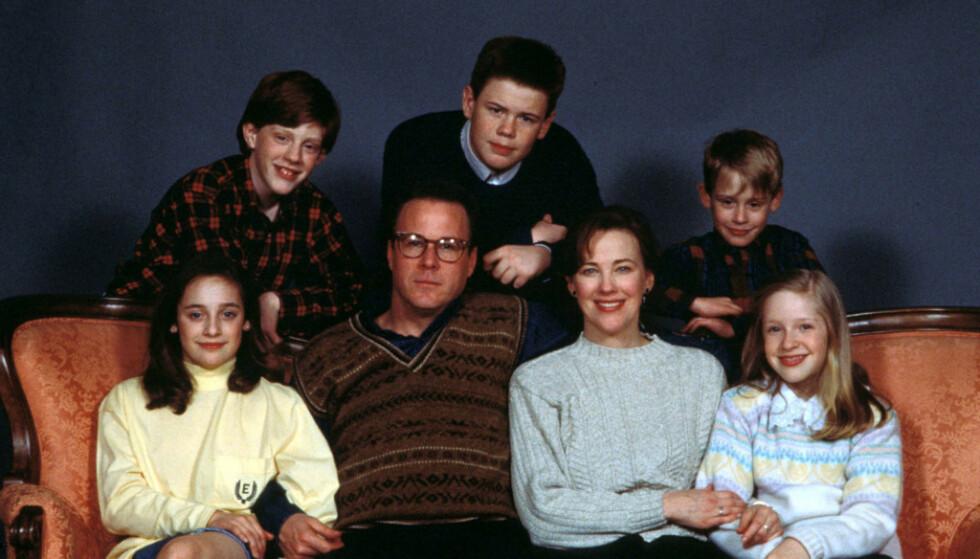 30 ÅR SIDEN: Det er i år 30 år siden den første julefilmen om McCallister-familien kom. Fremdeles har filmene fans verden over. Foto: Sipa USA / NTB