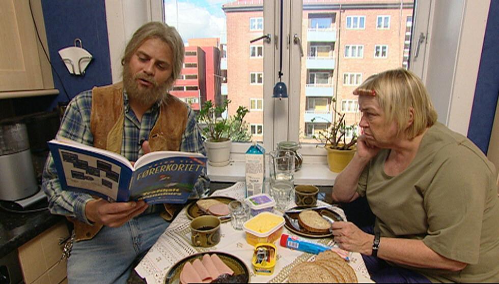DEN GANG DA: Sidsel Sørli ble kjent Norge rundt som Ruth etter å ha spilt mot Robert Stoltenberg i «Borettslaget». Livet hennes i dag er ganske så annerledes. Foto: NRK