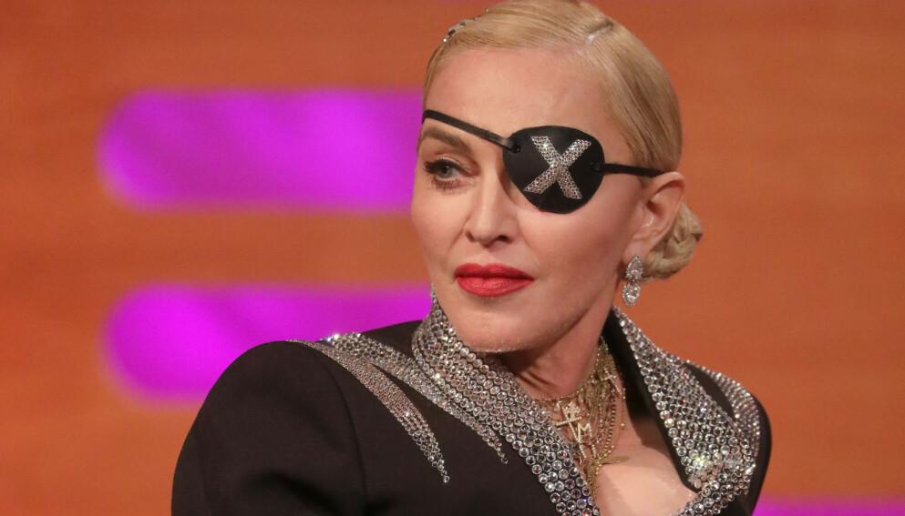 ÅPEN OG ÆRLIG: Popstjernen Madonna har nylig gjennomgått en hofteoperasjon, noe hun slett ikke skammer seg over. Foto: Pa Photos / NTB