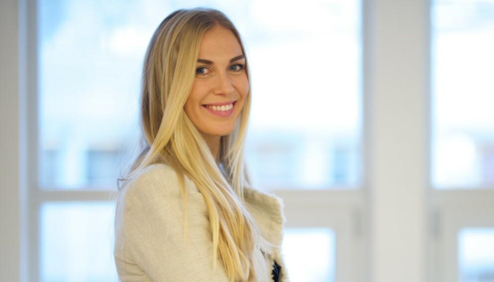 SLIK ER HUN NÅ: Karoline Fagerheim Hansen hadde en sentral rolle i «Jul i Blåfjell» på NRK. Foto: Dag Knudsen