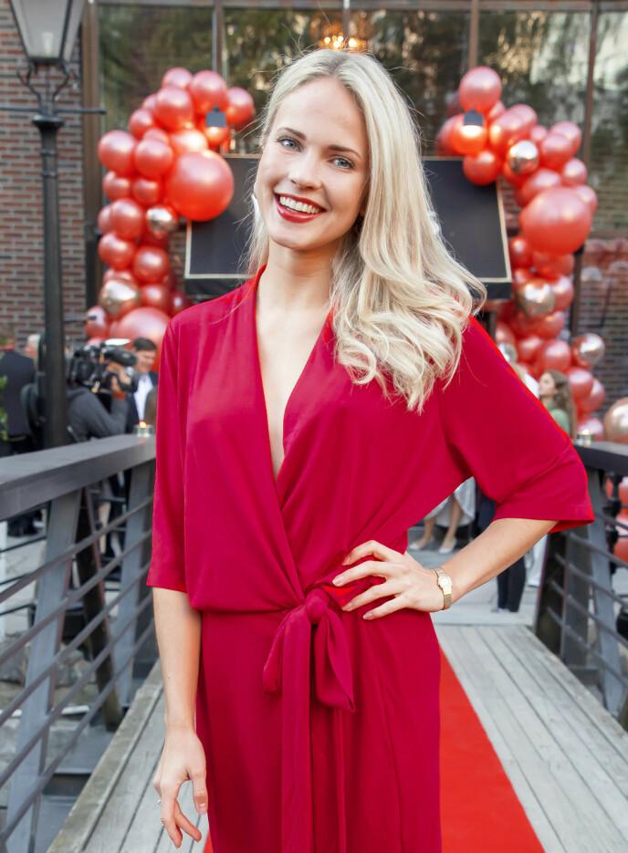 KLAPPET OG KLART: Emilie Nereng har ikke holdt igjen når det kommer til nyttårsforsettene sine. Foto: Tore Skaar / Se og Hør