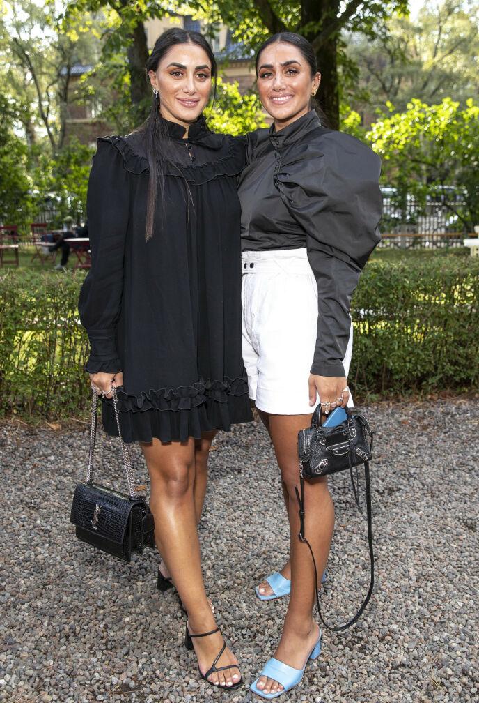 BOLIGDRØM: Tvillingsøstrene Vita og Wanda Mashadi har et stort ønske om å kjøpe seg bolig. Foto: Andreas Fadum / Se og Hør