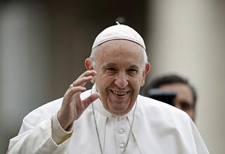 Paven med ny blemme