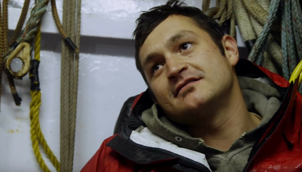 DØD: Nick McGlashan, kjent som krabbefisker i «Deadliest Catch», har gått bort. Han ble bare 33 år gammel. Foto: Discovery