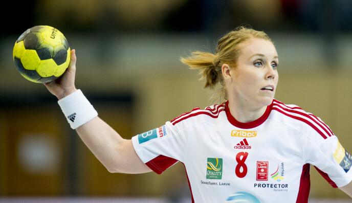 HÅNDBALLPROFF: Karoline Dyhre Breivang i 2015. Foto: Jon Olav Nesvold / NTB
