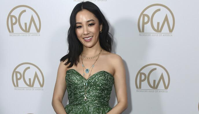 NYBAKT MOR: Constance Wu fikk sitt første barn med kjæresten Ryan Kattner i sommer. Her er hun avbildet under et arrangement i januar. Foto: Geoff Robins / AFP / NTB