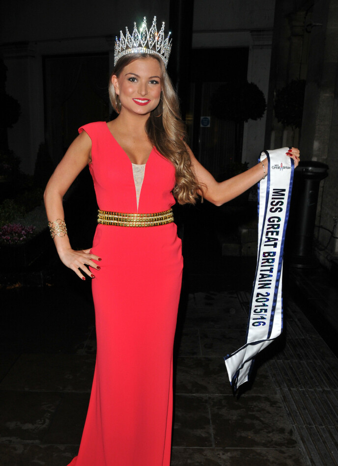 STRIPPET: Zara Holland vant Miss Great Britain, men ble senere fratatt tittelen etter å ha hatt sex på tv. Foto: Can Nguyen/REX , NTB