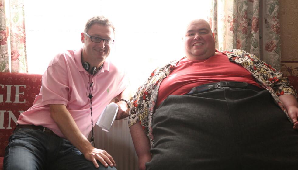 GIKK NED: Austin, her fotografert i 2009, skal ha gått ned over 100 kilo i 2012. Han sleit likevel med helseproblemer resten av livet. Foto: ITV/REX, NTB