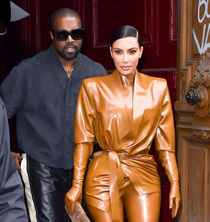 STREVER: Kim og Kanye har fremdeles utfordringer i ekteskapet, men prøver å gjøre sitt beste. Foto: New Media Images / SplashNews.com / NTB