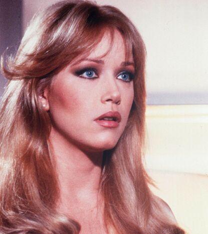BOND-STJERNE: Tanya Roberts i en scene fra «A View To A Kill» (1985). Foto: Danjaq/ Kobal/ REX/ NTB