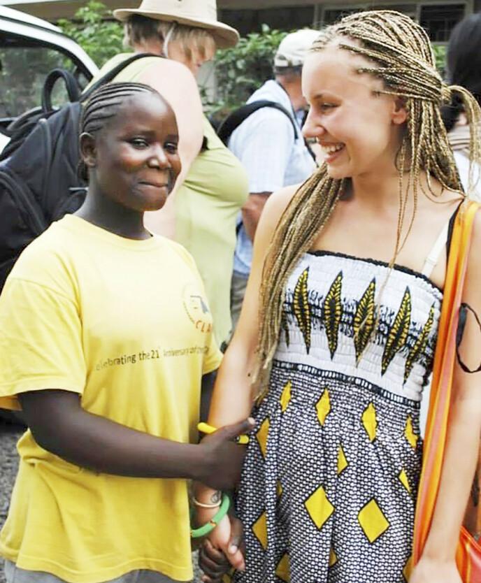 I AFRIKA: Marthe fra Tønsberg fikk minner for livet da hun i 2009 var på en seks uker lang tur skoletur til Kenya. Men reisen skulle vise seg å bli skjebnesvanger.