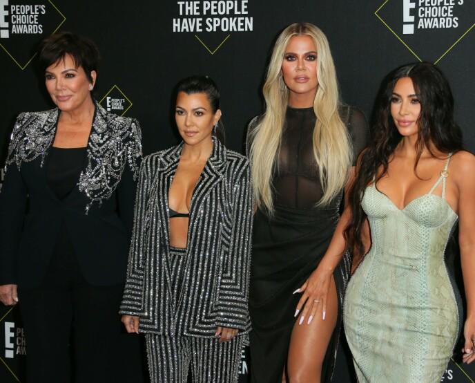SJOKKERER: I 15 år har familien klart å engasjere med realityprogrammet «Keeping Up With The Kardashians». Foto: Jean-baptiste Lacroix/ AFP / NTB