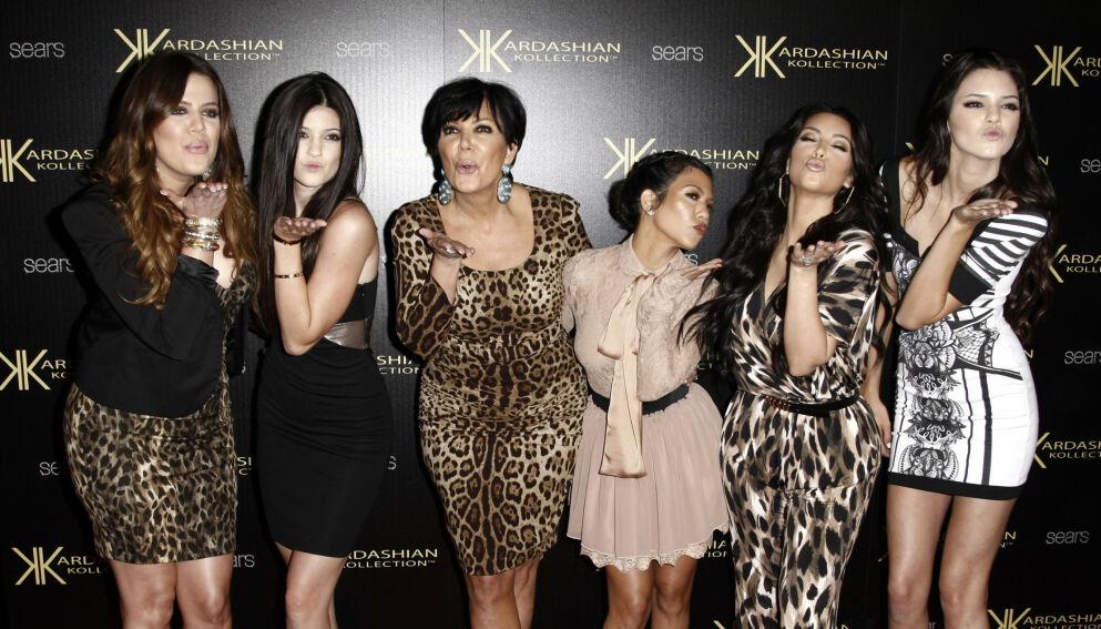 SKILSMISSEFAMILIEN: Realityfamilien er ikke ukjent for skilsmisser. Sist ut var Kim Kardashian. Foto: Matt Sayles /NTB