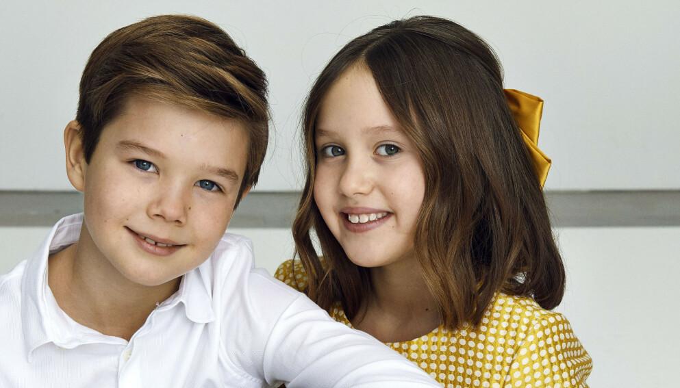FYLLER ÅR: Prins Vincent og prinsesse Josephine har bursdag i dag, og fyller hele ti år. Foto: Franne Voigt / Det danske kongehus