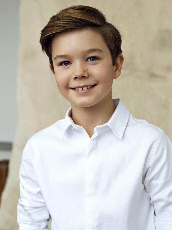 KOM FØRST: Prins Vincent ble født 26 minutter før tvillingsøsteren. Foto: Franne Voigt / Det danske kongehus