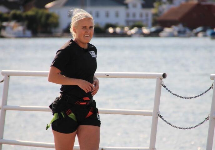 TIDENES YNGSTE: Genette satte rekord allerede før årets utgave av «Mesternes mester» hadde premiere. Foto: Sunniva Luca Veliz Pedersen, Rubicon TV/ NRK