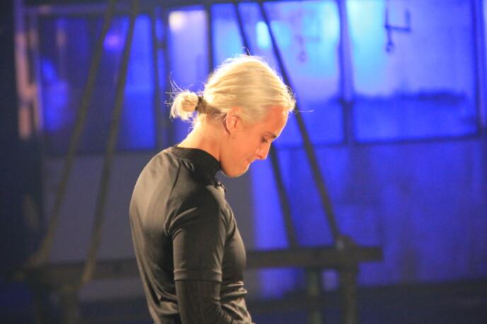 VONDT: Tårene trillet da Genette røk ut av konkurransen. Nå forteller hun hva som skjedde. Foto: Sunniva Luca Veliz Pedersen, Rubicon TV/NRK