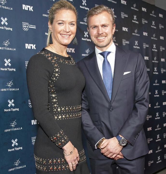 BLIR FORELDRE IGJEN: Suzann Pettersen og ektemannen Christian Ringvold venter sitt andre barn. Foto: Andreas Fadum/Se og Hør