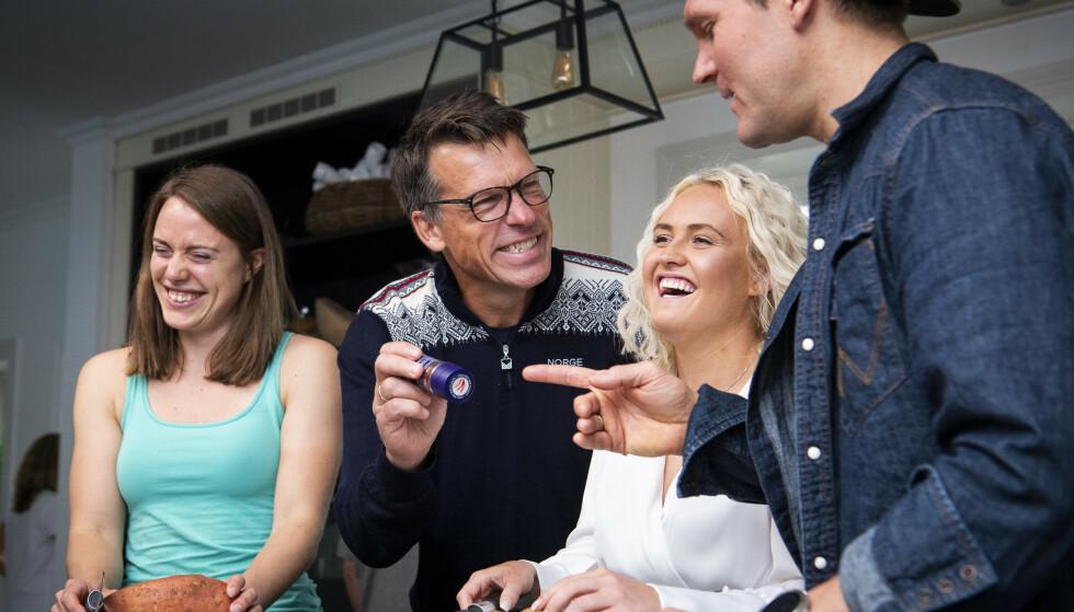 «MESTERNES MESTER»: Synnøve Solemdal (t.v.) er å se sammen med blant andre Johan Olav Koss og Genette Våge i denne sesongen av «Mesternes Mester». Foto: Lars Eivind Bones / Dagbladet