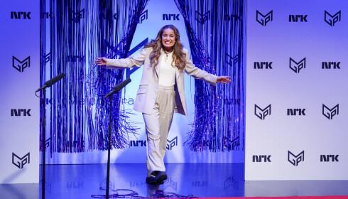 TIL MPG: Kaja Rode er klar for MGP-delfinale. Foto: Håkon Mosvold Larsen / NTB