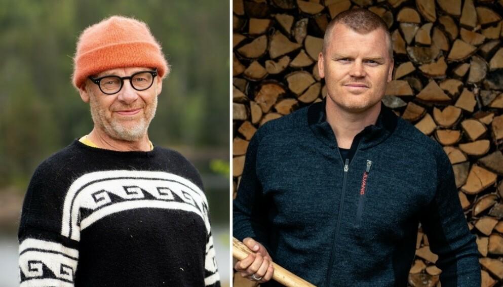 UVENNER FØR «FARMEN»: Espen Rustad Thoresen og John Arne Riise var uvenner før de reiste inn på tv-gården. Dette sier de nå. Foto: Alex Iversen / TV 2