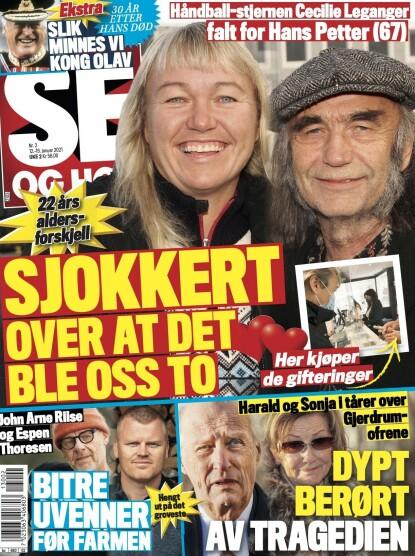 KRANGEL: Det er i tirsdagens utgave du kan lese saken om Riise og Thoresen. Faksimile: Se og Hør