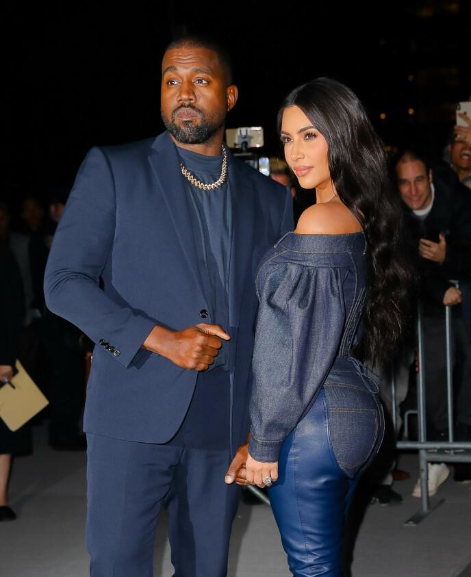 HAR FÅTT NOK: Flere kilder hevder at Kim er ferdig med ekteskapet til Kanye. Foto: Felipe Ramales / Splash News / NTB