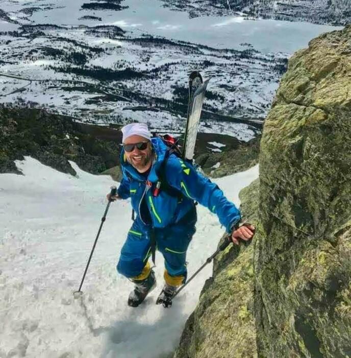 EIER: Tafjord eier hytten bare 200 meter unna innspillingsstedet i Hemsedal. Foto: Privat