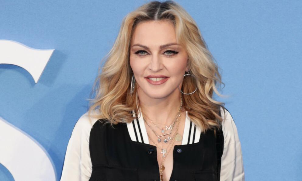 PÅ REISEFOT: Popstjernen Madonna skal ha besøkt fem land i løpet av bare tre uker - midt under pandemien. Foto: Yui Mok / Pa Photos / NTB