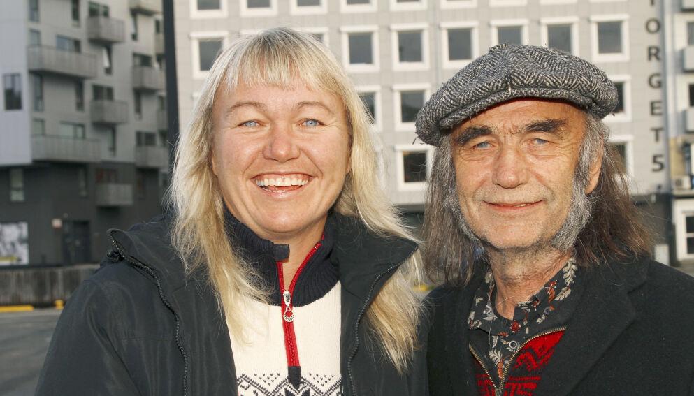 FORLOVET: Cecilie Leganger og samboeren, HP Gundersen, har forlovet seg. Foto: Bent Are Sigvaldsen / Se og Hør