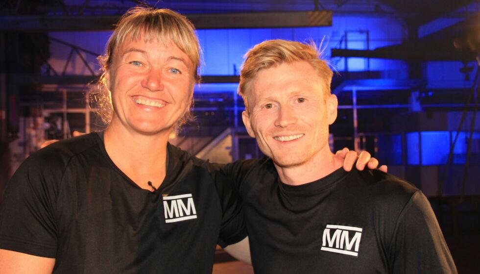 KONKURRENTER: Cecilie Leganger måtte fredag se seg slått av Magnus Midtbø. Foto: Sunniva Luca Veliz Pedersen, Rubicon TV/NRK