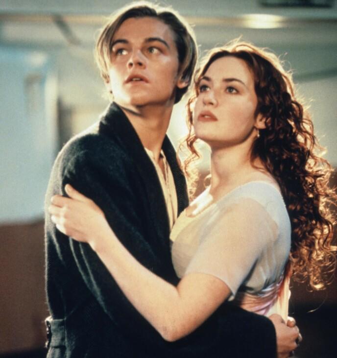 «TITANIC»: Kate Winslet og Leonardo DiCaprio bar rollene som henholdsvis Rose og Jack i suksessfilmen «Titanic i 1997. Foto: Merie W Wallace / 20th Century Fox / Paramount/ Kobal / Rex / NTB