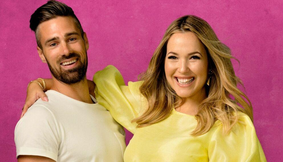 PÅ FLYTTEFOT: «Bloggerne»-ekteparet Christoffer og Monica Nyhus flytter fra Kristiansand til Oslo. Foto: TV 2