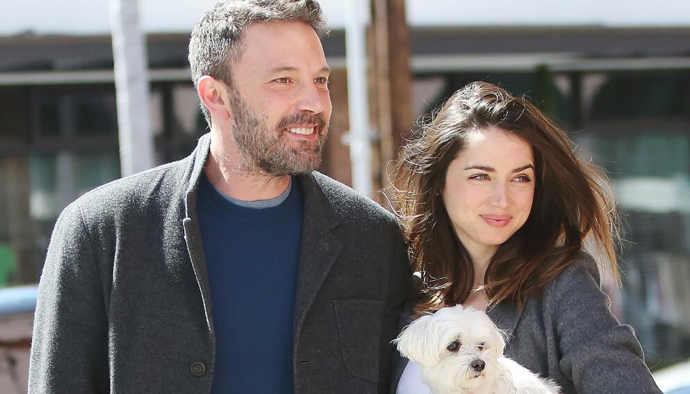 BRUDD: Forholdet mellom skuespillerene Ben Affleck og Ana De Armas skal ha tatt slutt. Foto: NTB