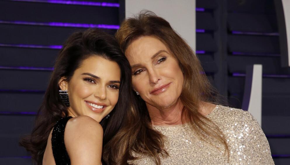 ÅPNER OPP: Caitlyn Jenner skal fremdeles ha et godt forhold til alle barna sine. Hun har imidlertid én favoritt. Her avbildet med Kendall Jenner. Foto: Danny Moloshok / REUTERS / NTB