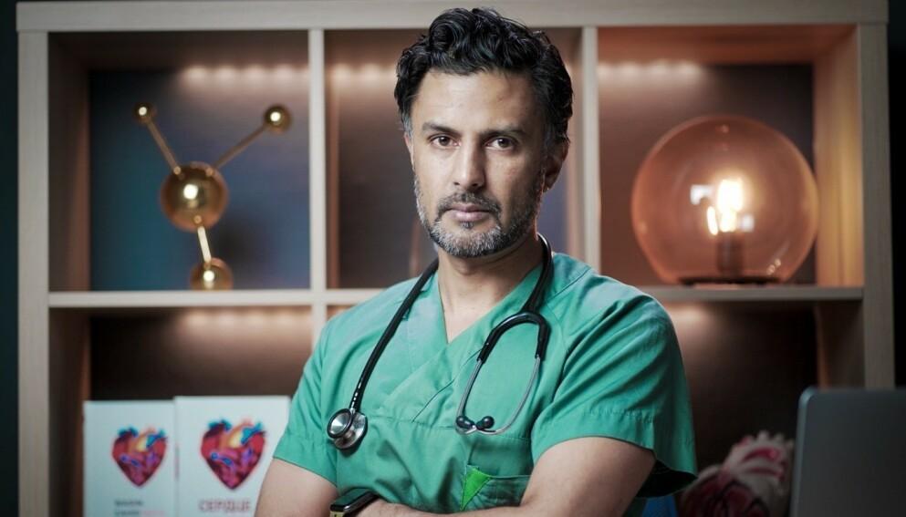 SMITTET: I forrige uke ble det kjent at lege Wasim Zahid hadde blitt coronasmittet. Slik går det med ham nå. Foto: Privat / NTB