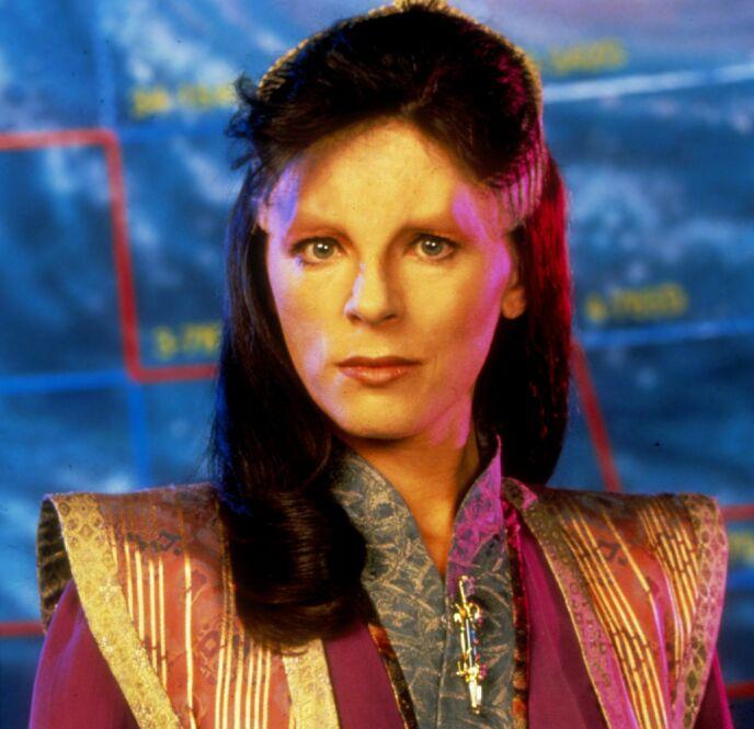 STJERNE: Mira Furlan er mest kjent for sin rolle i serien «Babylon 5», som gikk på tv på 1990-tallet. Foto: Moviestore / REX / NTB