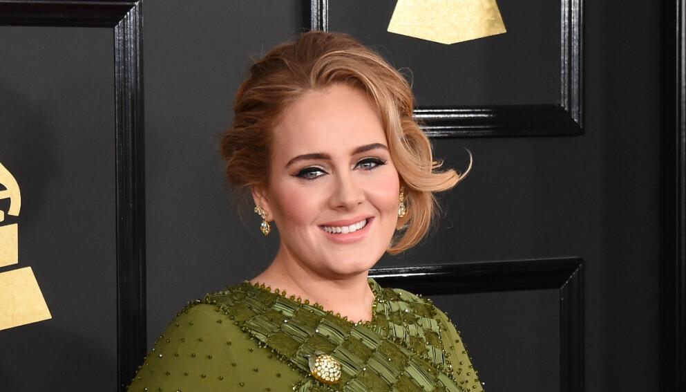 SKILT: Skilsmissen til Adele er endelig ferdigstilt. Foto: Jim Smeal/REX/NTB