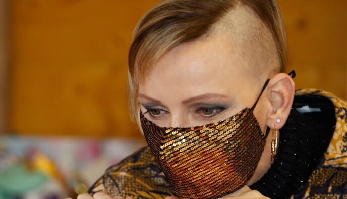 HEI SVEIS: Mange ble nok overrasket over fyrstinnas nye frisyre. Foto: Eric Gaillard / Reuters / NTB