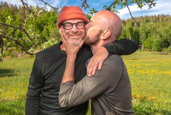 LANGT VENNSKAP: Espen Thoresen og Terje Sporsem har kjent hverandre i en årrekke. Foto: Alex Iversen/TV 2
