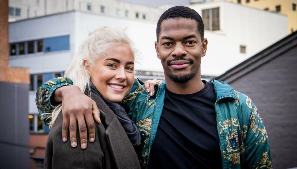 BYTTER BEITE: Nate Kahungu tar nok en ny karrierevei. Her sammen med «Skal vi danse»-partner Helene Spilling. Foto: Lars Eivind Bones/ Dagbladet