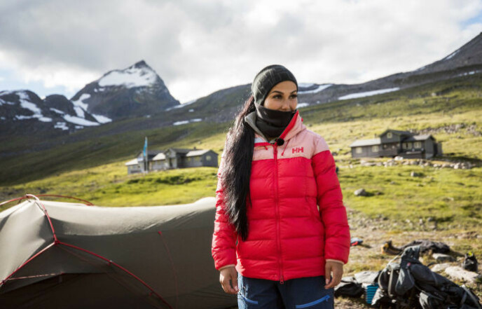 ORKET IKKE MER: Isabel Raad takket for seg i episode seks av TVNorge-programmet. Foto: Haakon Lundkvist / TVNorge