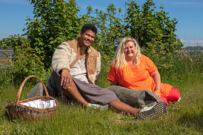 KORT OPPHOLD: Markus Bailey får bli værende på gården etter at Hilde Skovdahl måtte trekke seg. Foto: Alex Iversen / TV 2