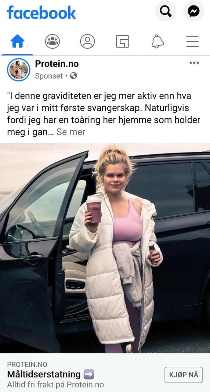 FELT: Julianne Nygård ble felt for dette innlegget, noe hun reagerer sterkt på. Foto: Skjermdump