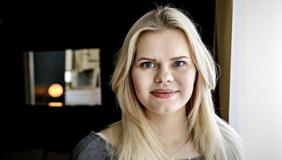 REAGERER: Influenser Julianne Nygård mener fellelsen tirsdag er urettferdig. Foto: Nina Hansen/ Dagbladet