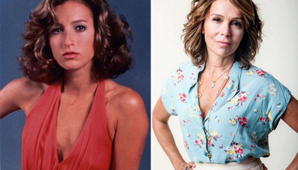 UGJENKJENNELIG?: Jennifer Grey har tidligere åpnet seg om neseoperasjonen som forandret alt. Foto: NTB